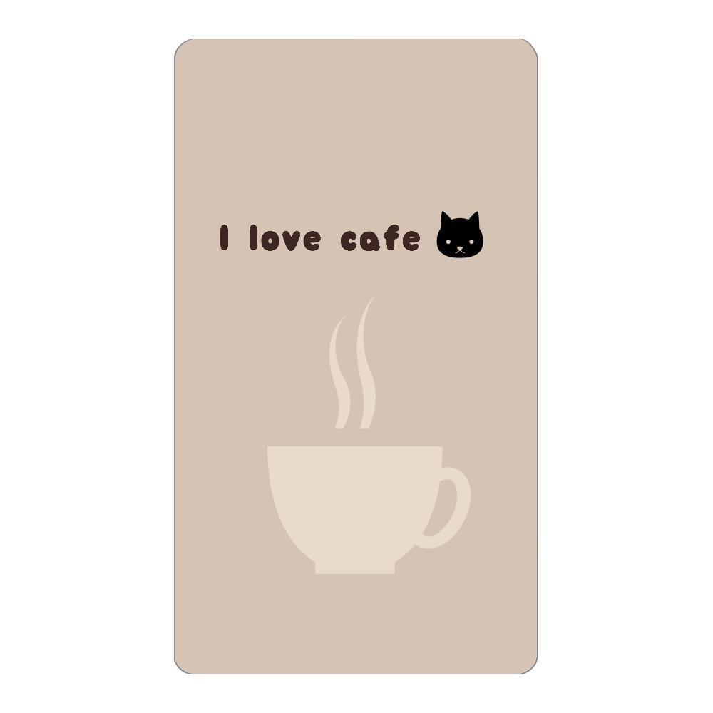 『猫とカフェラテ』モバイルバッテリー インジケータ無バッテリー4000mAh