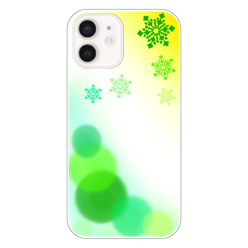雪の結晶(緑ver.) iPhone12