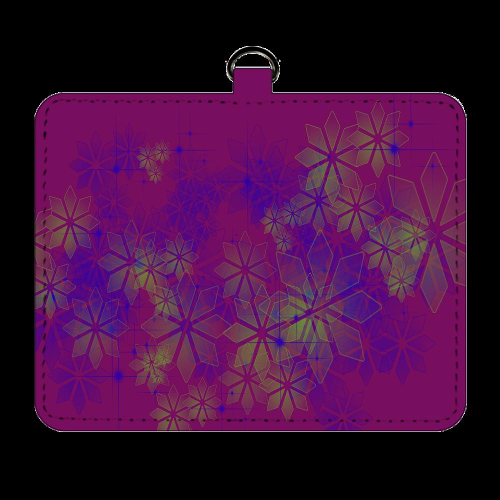 パスケース 結晶 purple パスケース