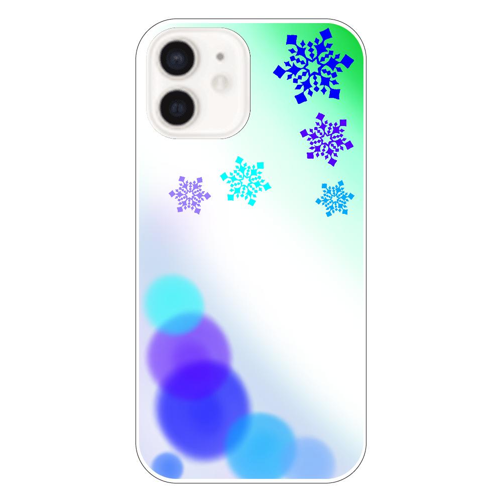 雪の結晶(青ver.) iPhone12