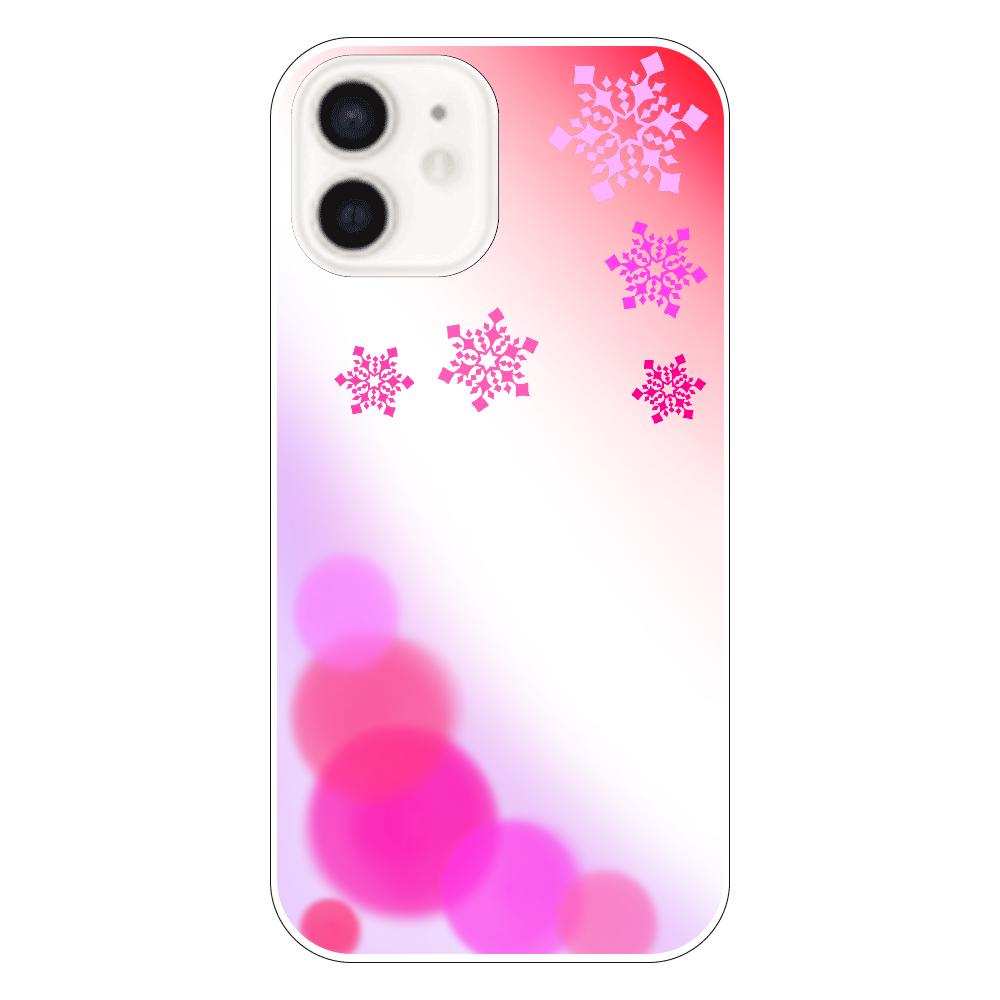 雪の結晶(ピンクver.) iPhone12