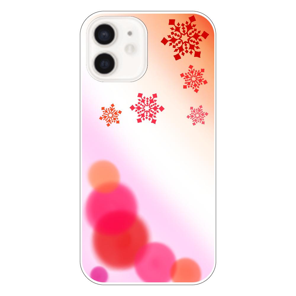 雪の結晶(赤ver.) iPhone12