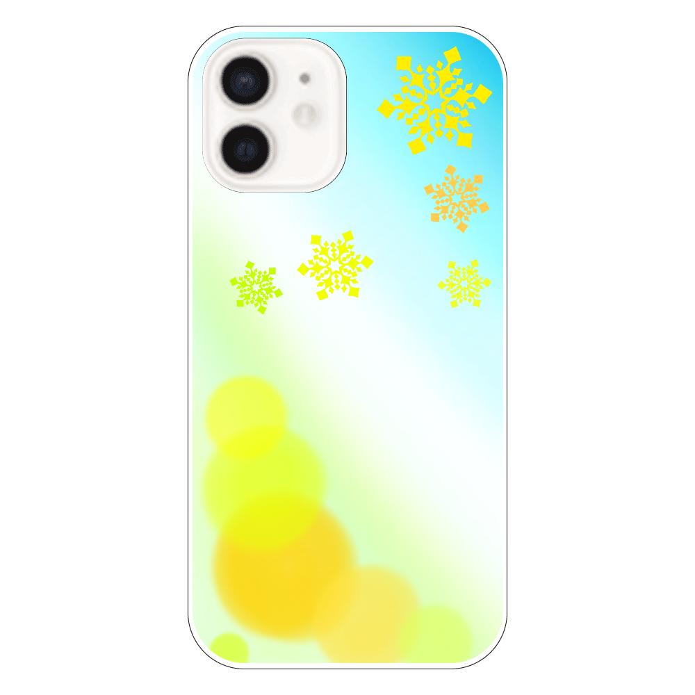 雪の結晶(黄色ver.) iPhone12