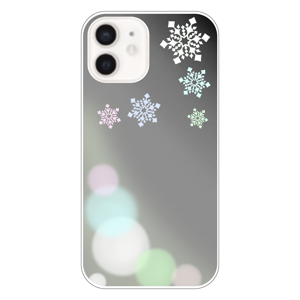 雪の結晶(白ver.) iPhone12