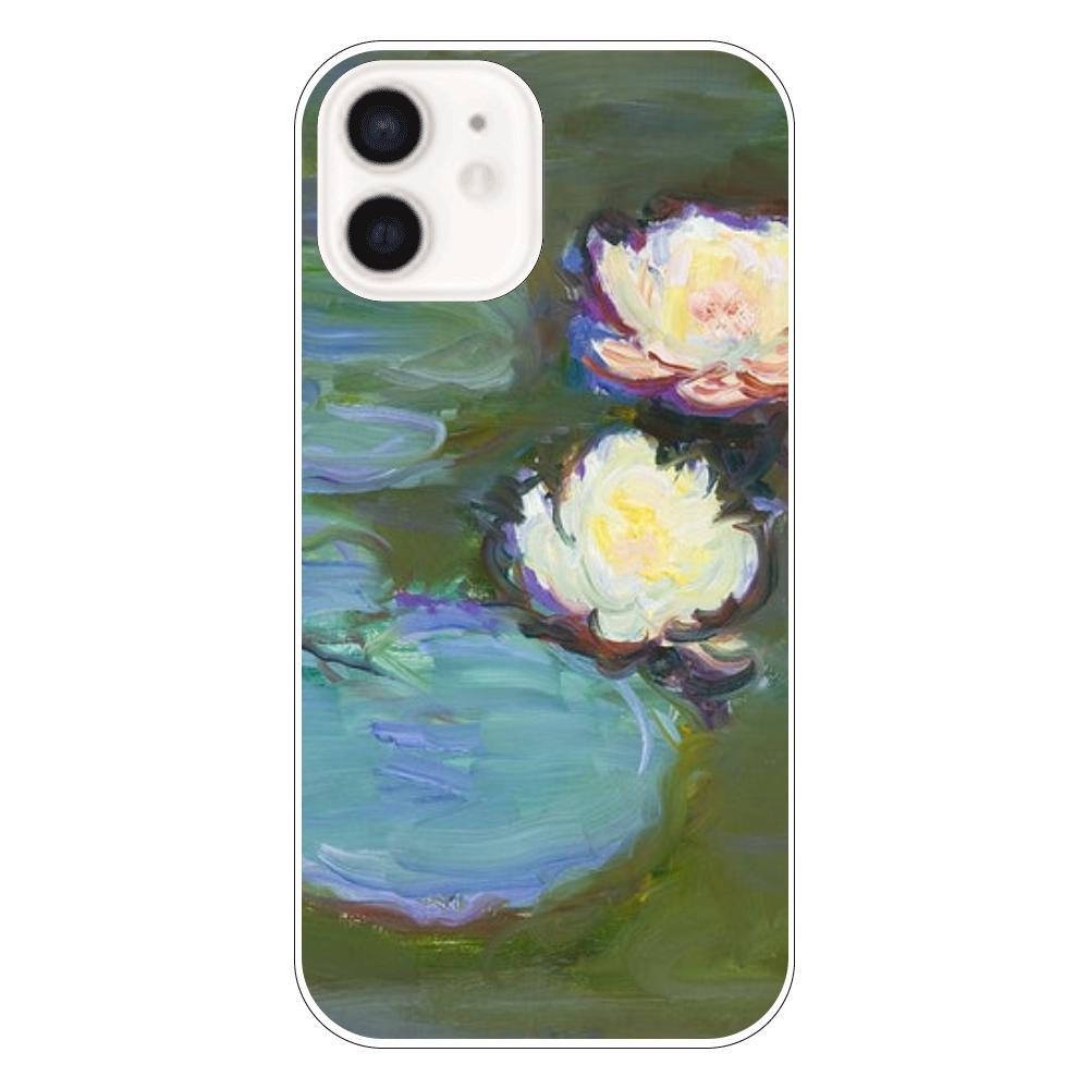 クロード・モネ 睡蓮 iPhoneケース カバー iPhone12