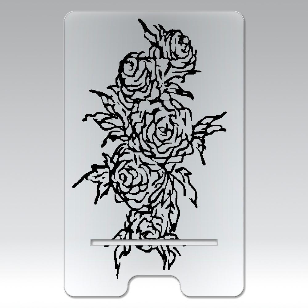 追憶の中で咲く ⑦ アクリル スマホスタンド