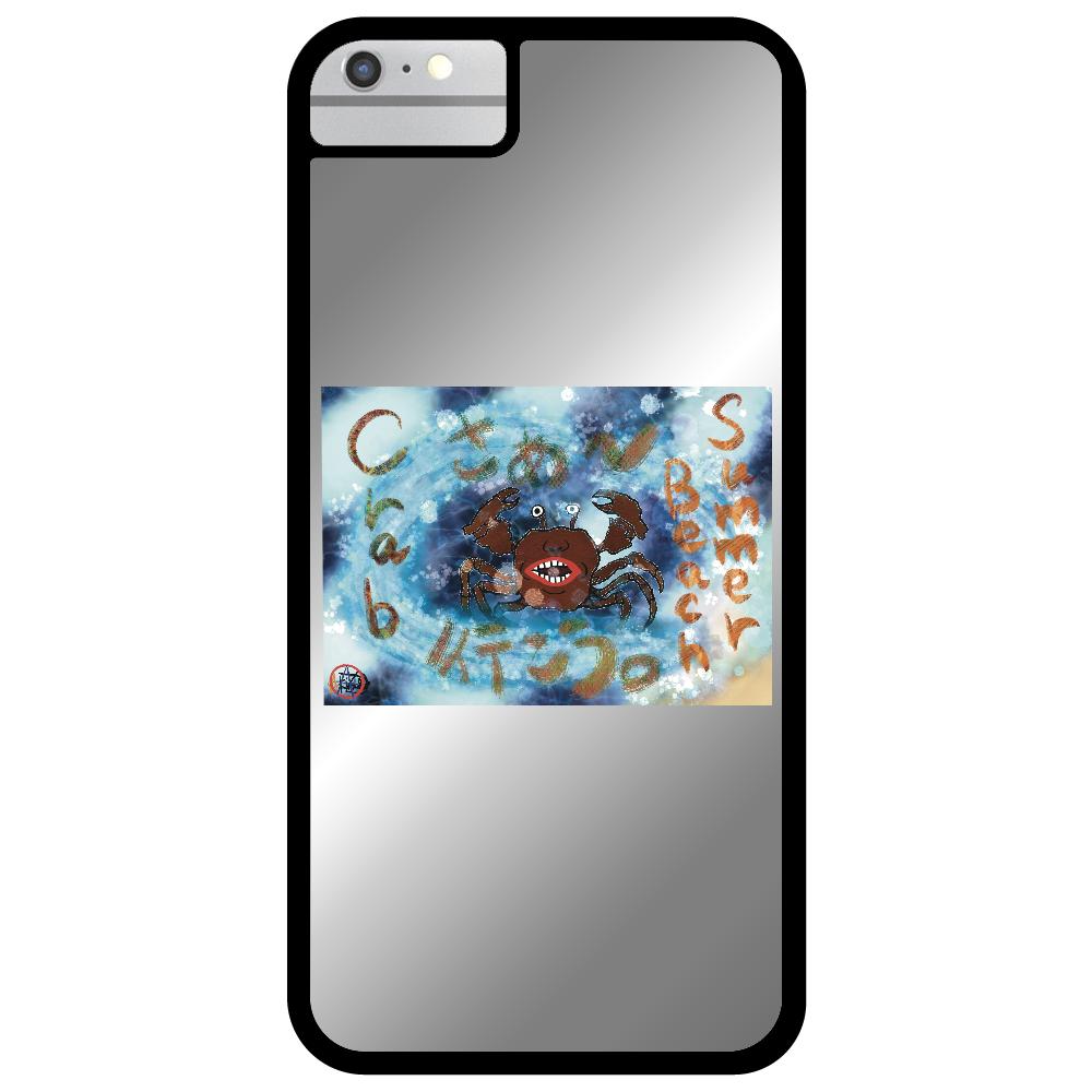 夏のビーチ「カニ」 ORILAB MARKET.Version.8 iPhone6ミラーパネルケース