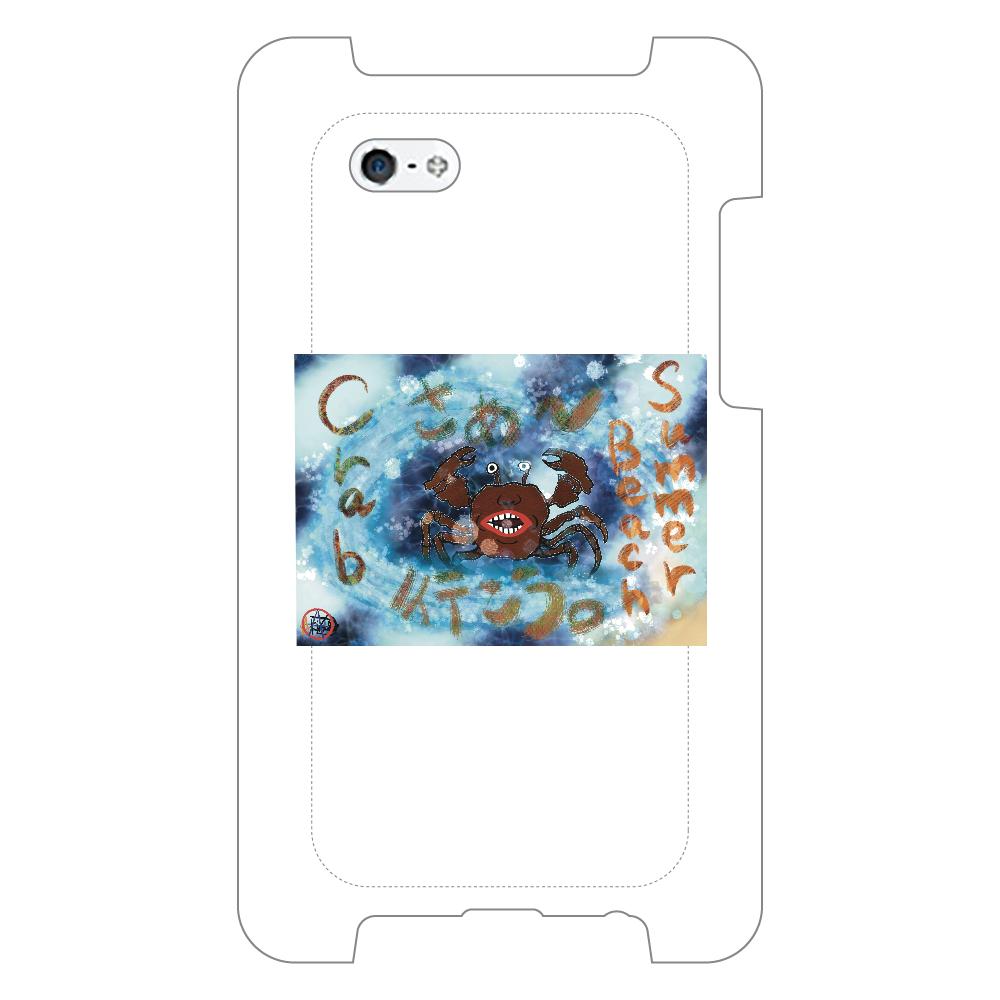 夏のビーチ「カニ」 ORILAB MARKET.Version.8 iPhone5/5s/SE_ミラーケース