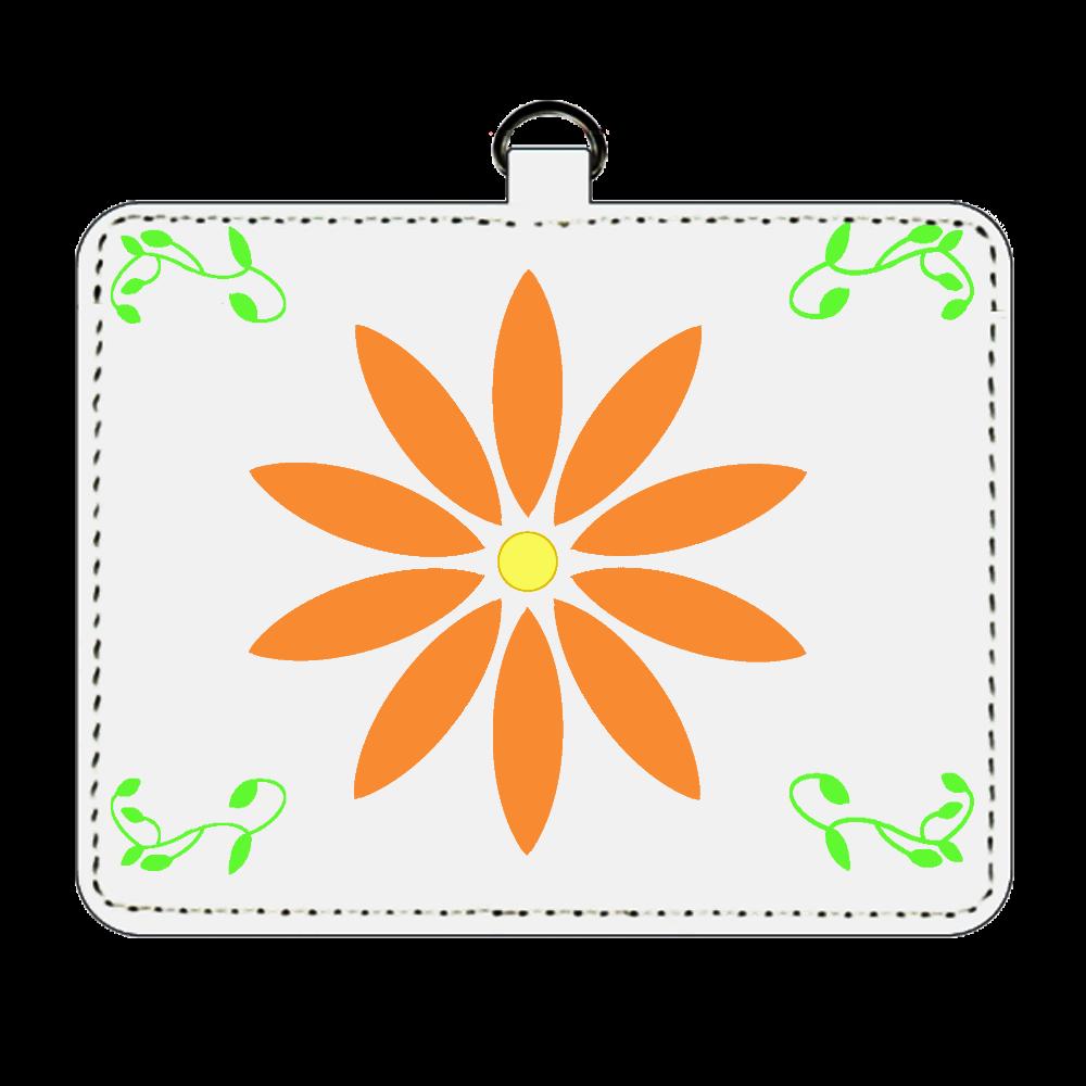 花柄パスケース パスケース