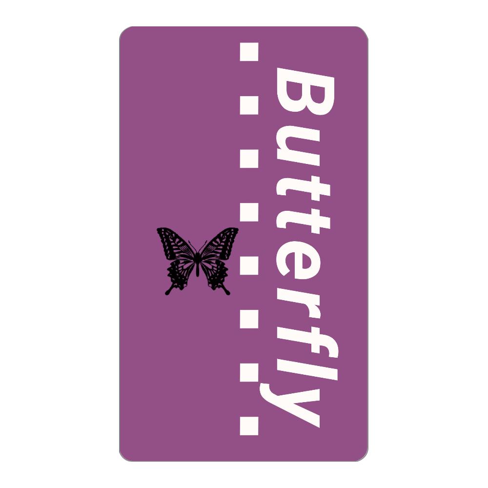 butterfly モバイルバッテリー インジケータ無バッテリー4000mAh