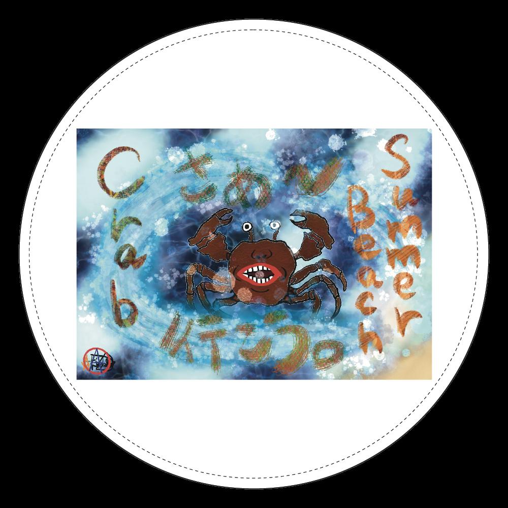 夏のビーチ「カニ」 ORILAB MARKET.Version.11 コインケース