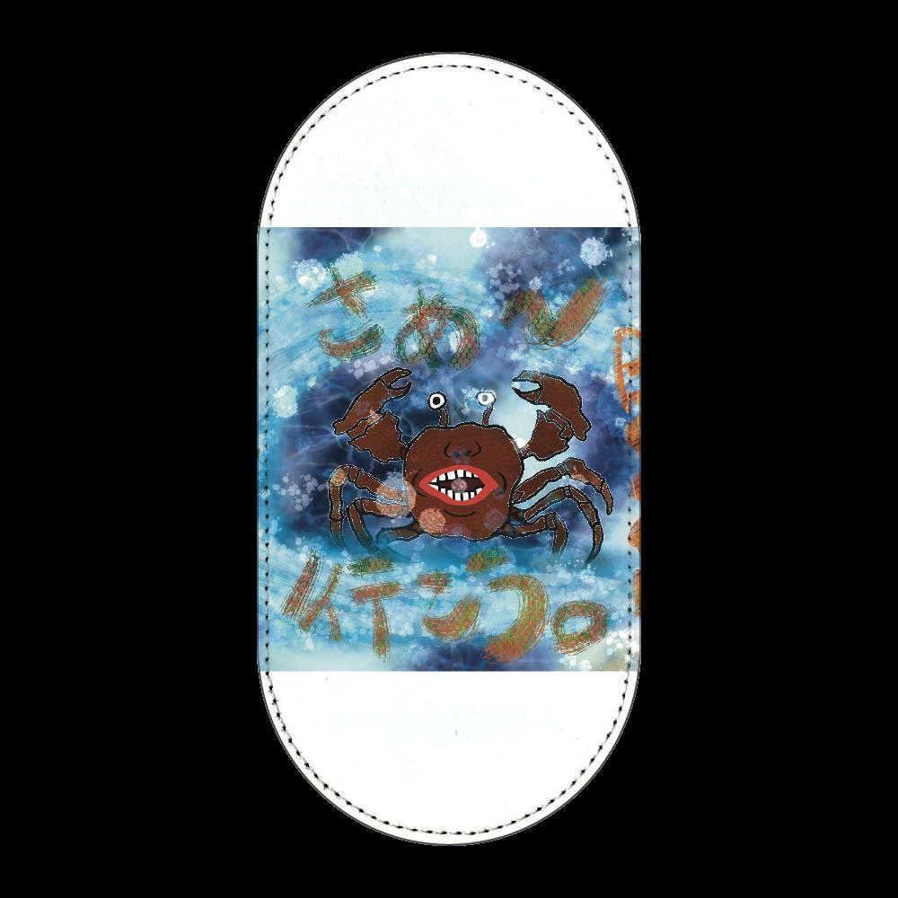 夏のビーチ「カニ」 ORILAB MARKET.Version.11 馬蹄型コインケース
