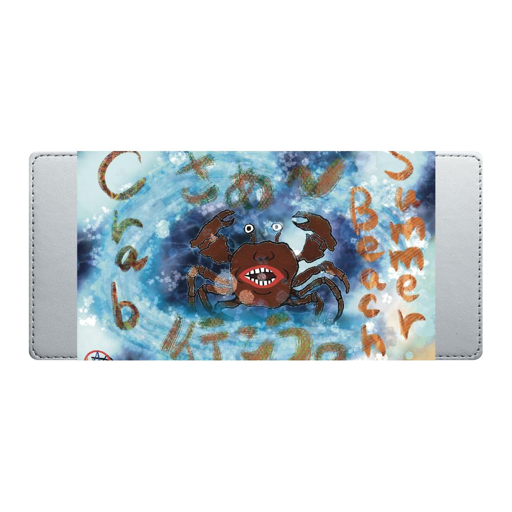 夏のビーチ「カニ」 ORILAB MARKET.Version.11 オリジナル付箋ケース
