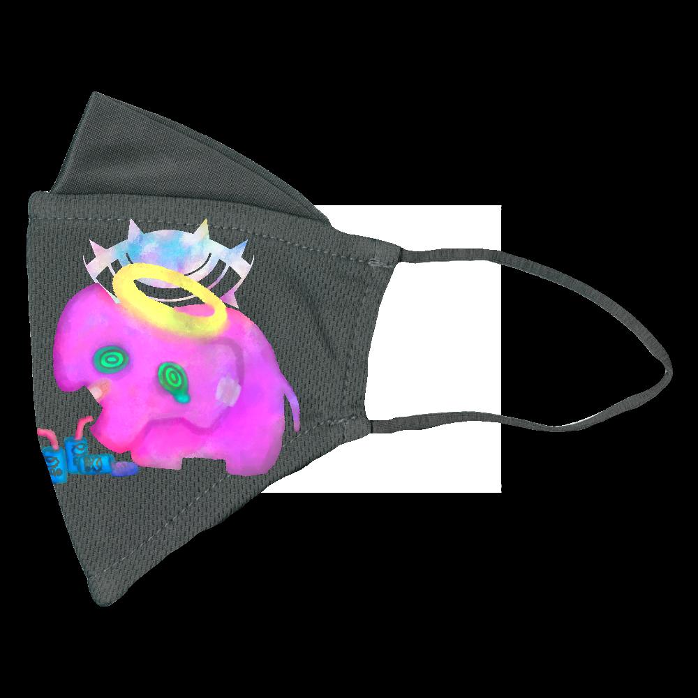 限界ぞうさん ぴったりフィットマスク(接触冷感)
