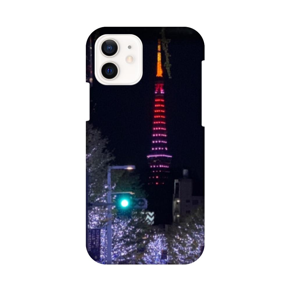 iPhone12 ケース TOKYOイルミ iPhone12 / 12 Pro