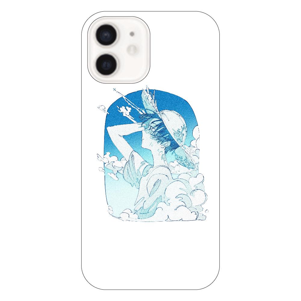 夏の風 スマホケース iPhone12(透明)
