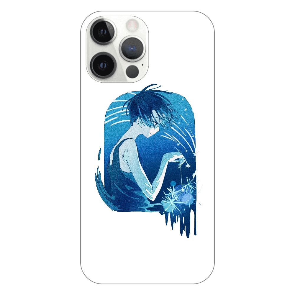 夏の星 スマホケース iPhone12 ProMax(透明)