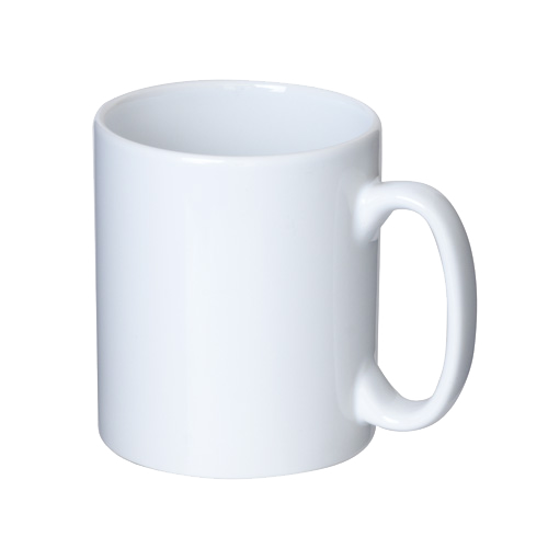 顔文字デザインマグカップ(^^) マグカップ  ホワイト