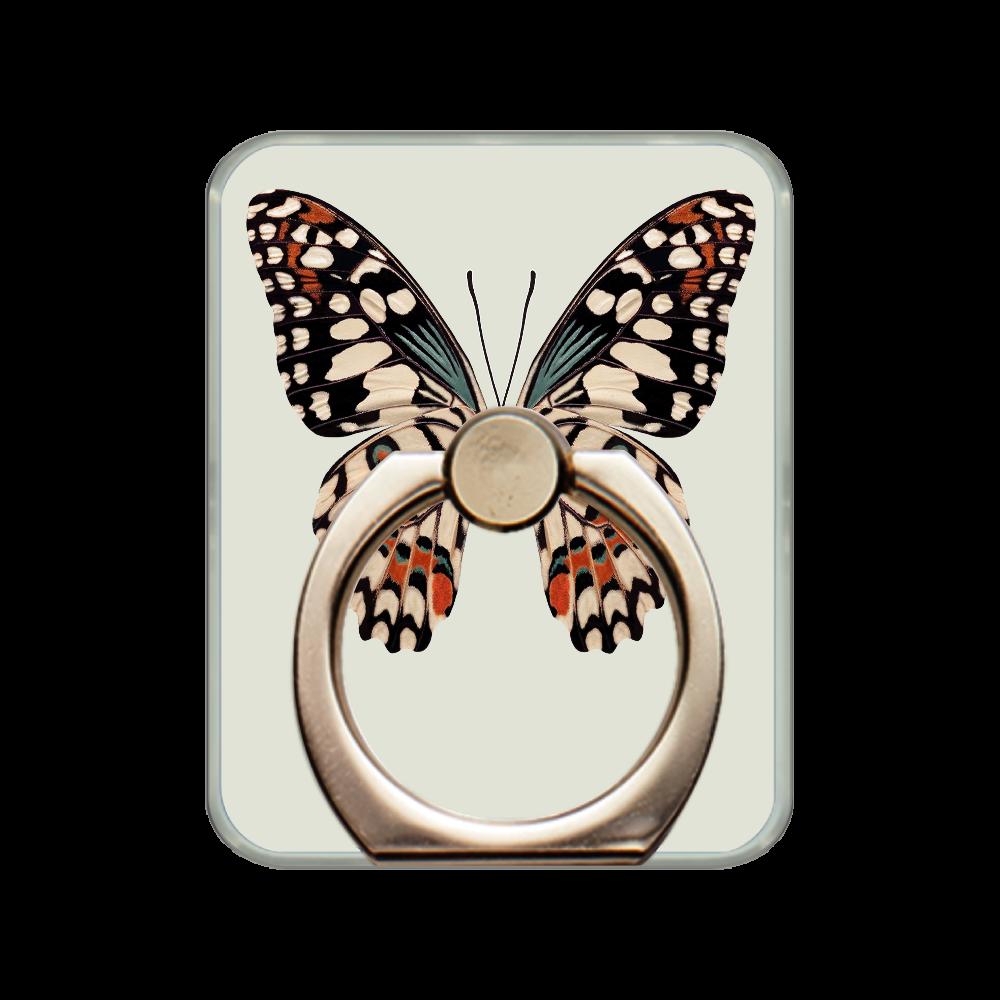 「蝶々」スマホリング スマホリング