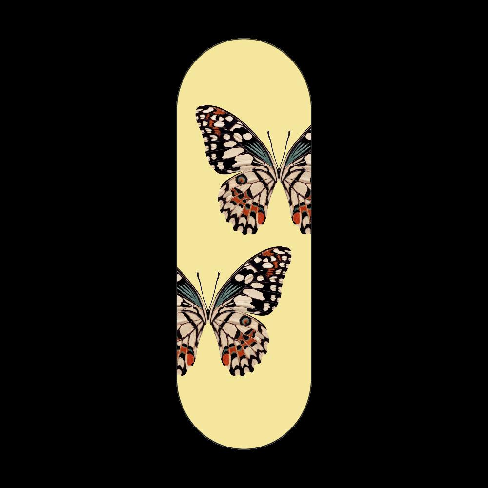 「蝶々」シリコンスマホリング シリコンスマホリング
