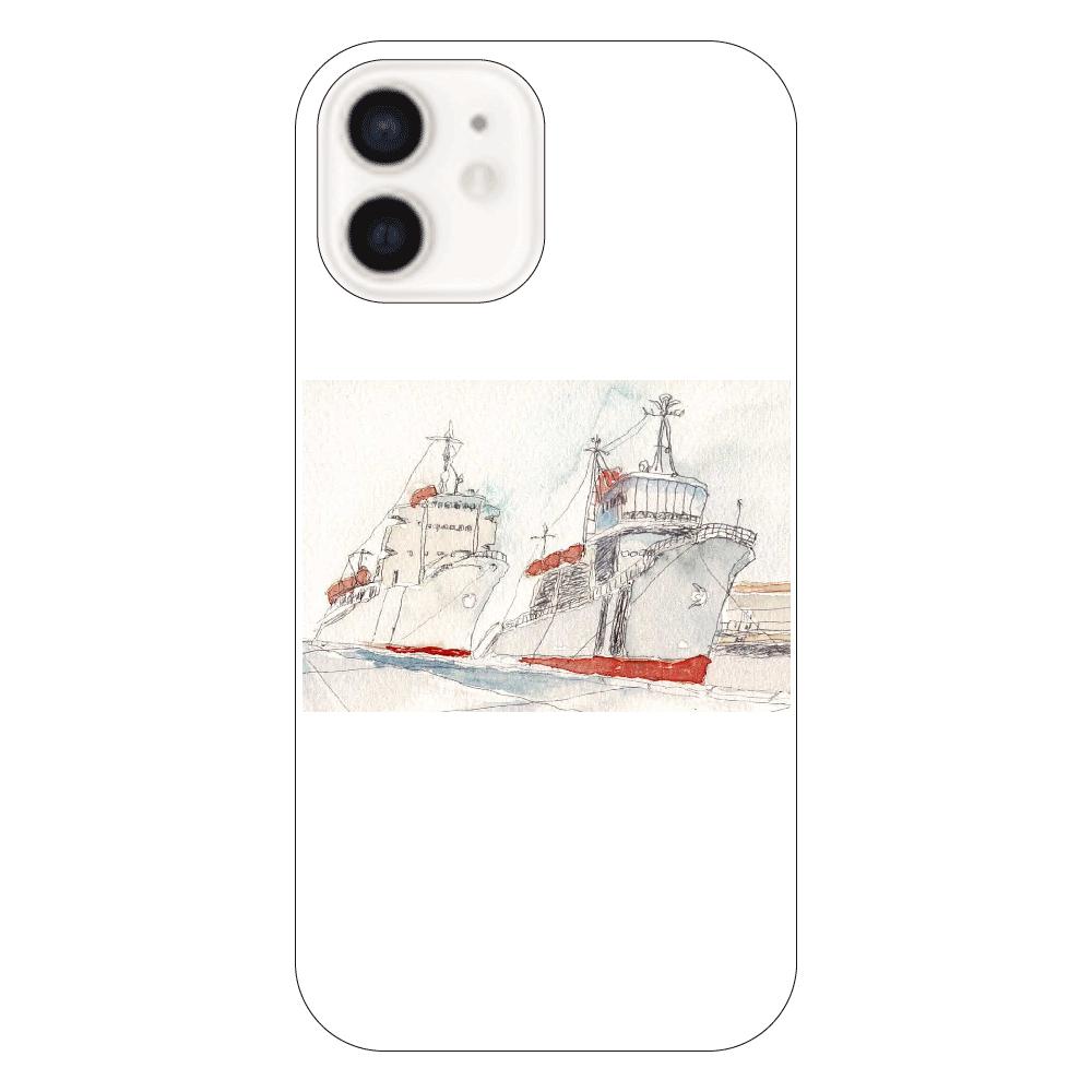 港の風景 スマホケース iPhone12
