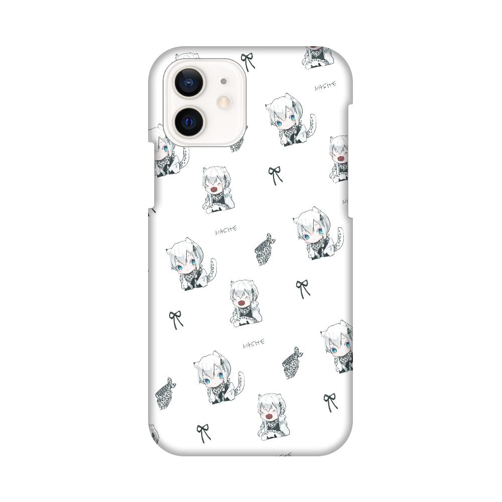 【オリラボ限定】書き下ろし ちびなしぇ 全面スマホケース iPhone12 / 12 Pro