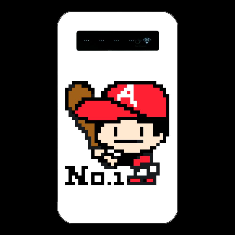 野球少年A -ピクセルアート- インジケータ有バッテリー4000mAh