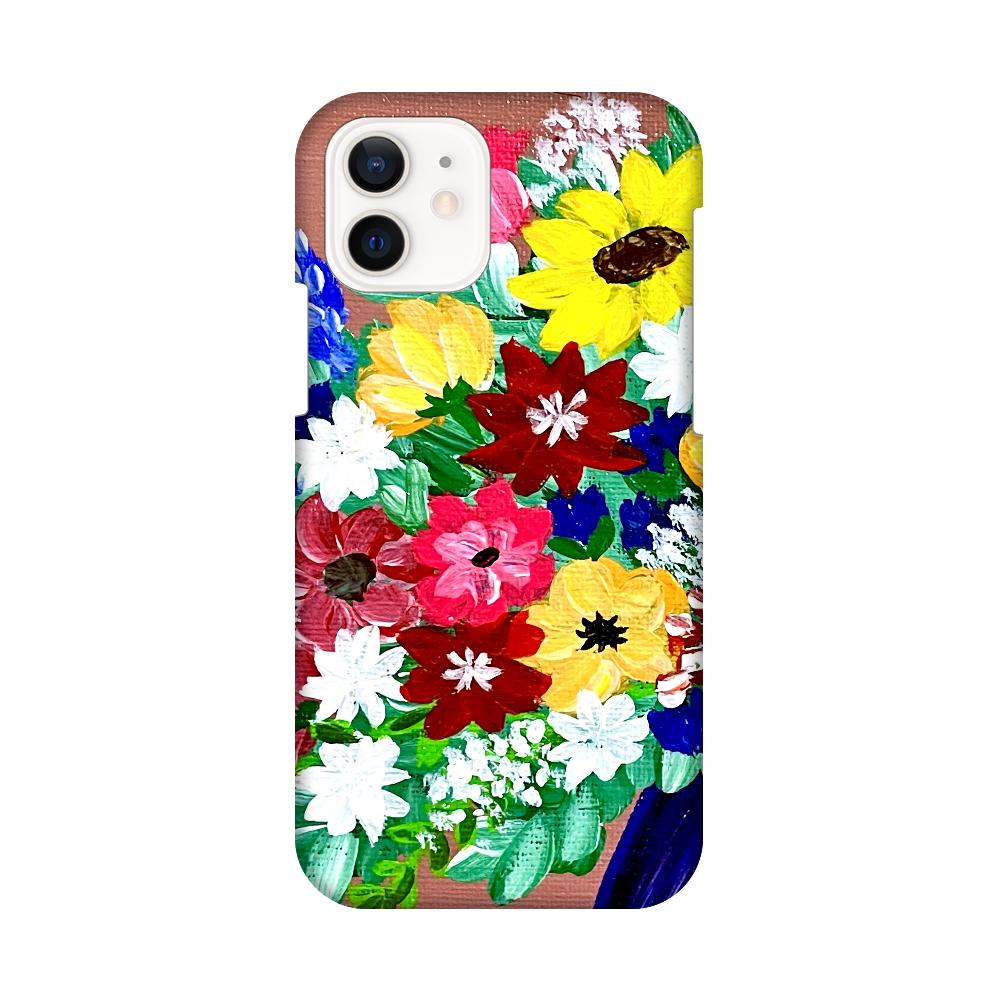 華やか可愛い花瓶の花たち iPhone12 / 12 Pro