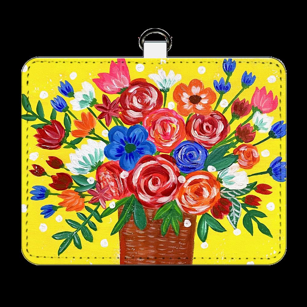 花瓶の花々*パスケース パスケース
