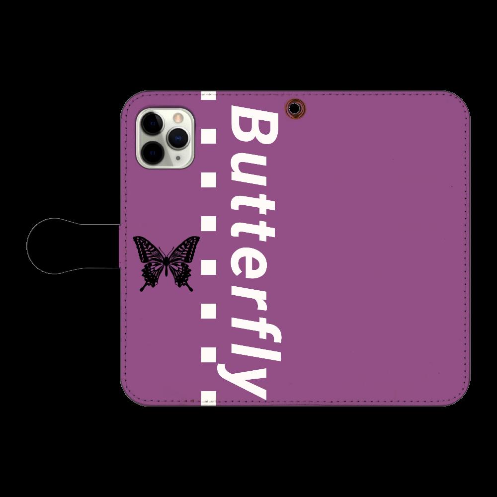 butterfly iPhone11 Pro 手帳型スマホケース iPhone11 Pro 手帳型スマホケース