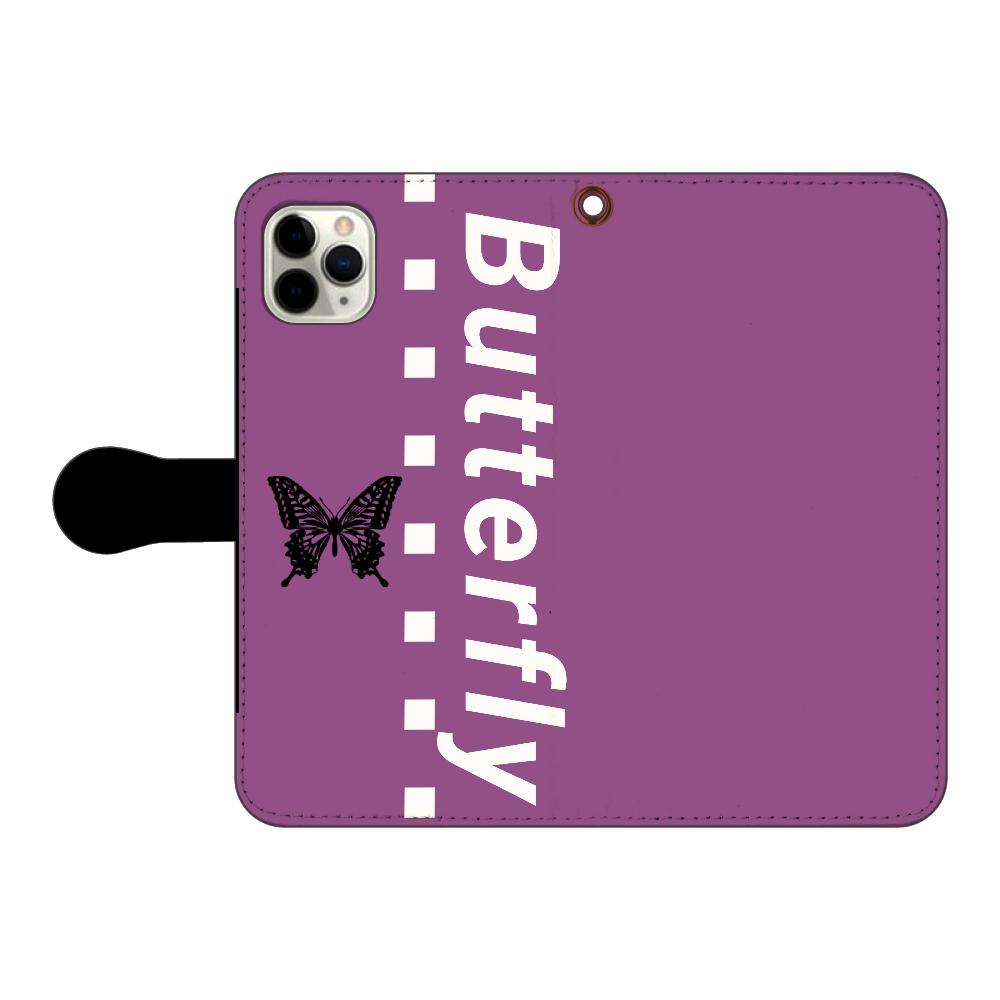 butterfly iPhone11 Pro MAX 手帳型スマホケース iPhone11 Pro MAX 手帳型スマホケース