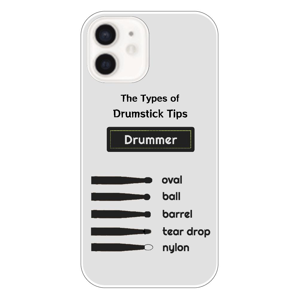[全5機種] The Types of Drumstick Tips iPhone12