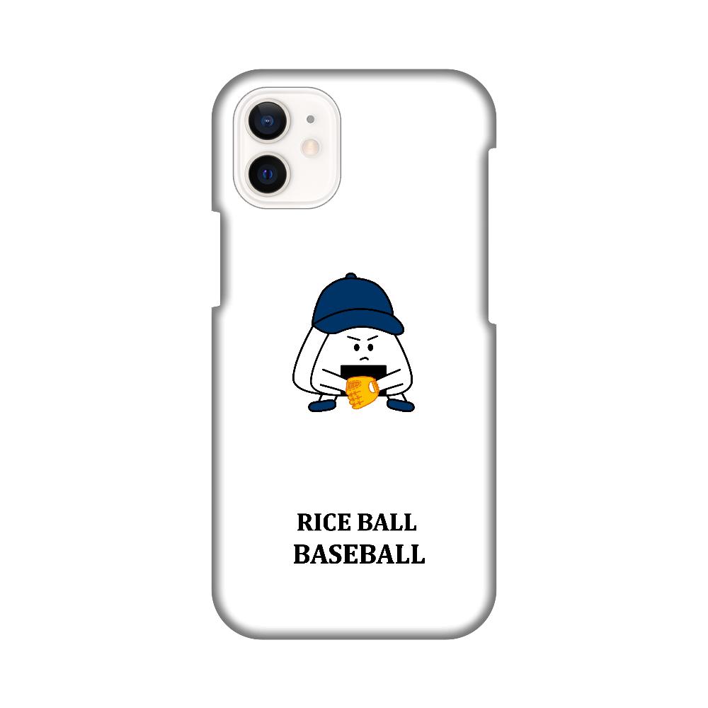 おにぎり〜ず 守備(ロゴ黒) iPhone12 mini
