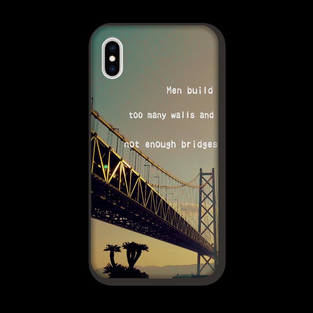 明石海峡大橋と英文 iPhoneXsMAX