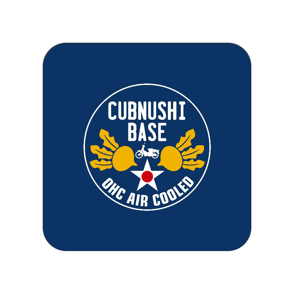 CUBNUSHI BASE カブ主ベース 全面プリントハンカチタオル