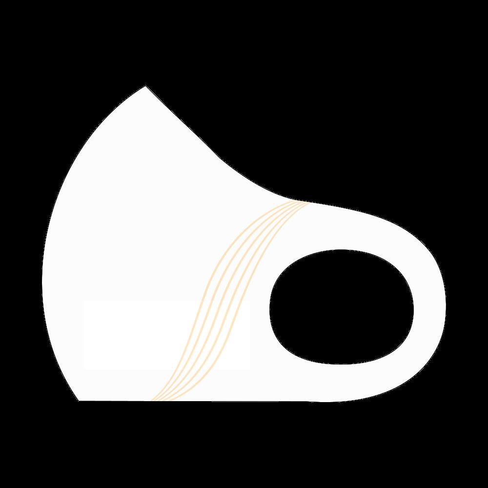 マスク♪バイオリン(5線) スポーツマスク