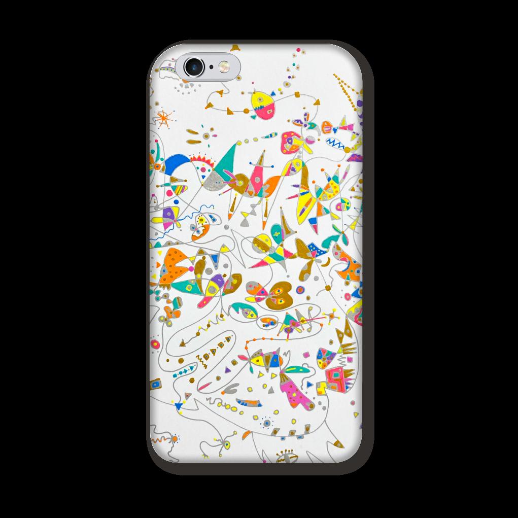 ぶちょうイラスト ロゴなし【iPhoneシリーズ】側表面印刷 iPhone6/6s