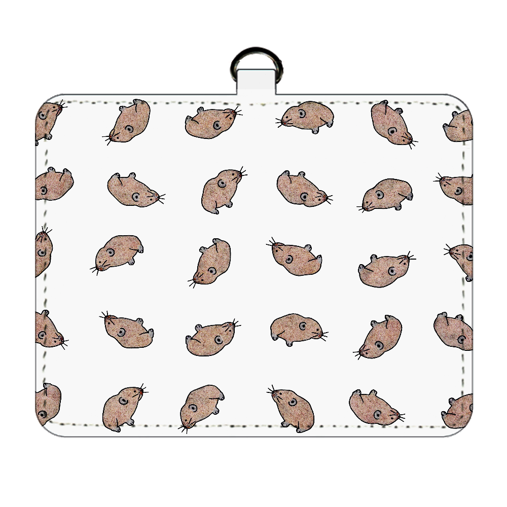 エゾナキウサギのパスケース パスケース