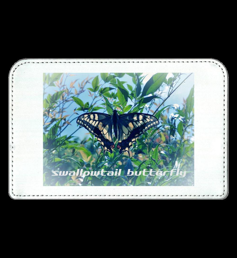 swallowtail butterfly スクエアミラー 化粧ポーチ