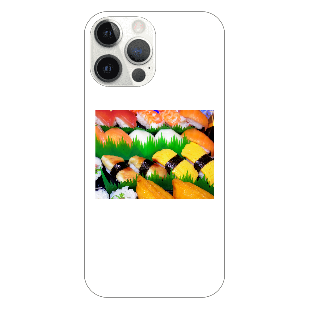 握り寿司 iPhone12 ProMax(透明)