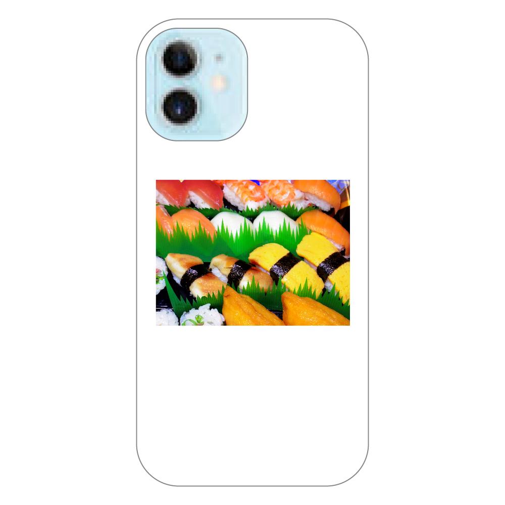 握り寿司 iPhone12 mini(透明)