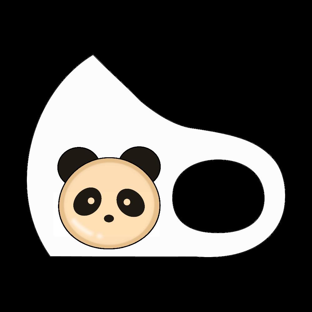 パンダパン スポーツマスク