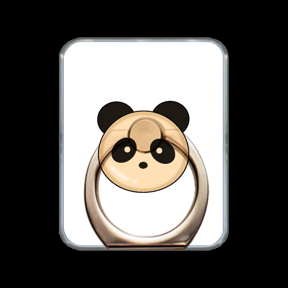 パンダパン スマホリング