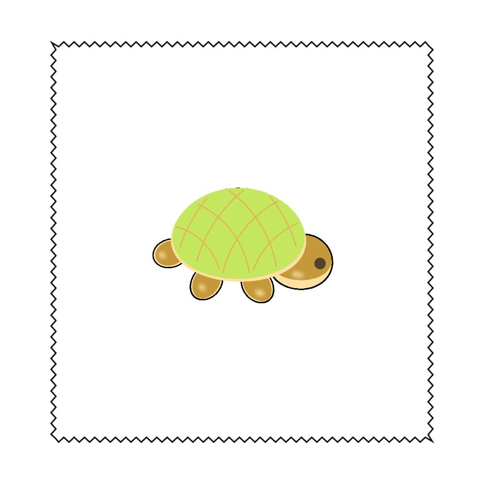 亀パン マイクロファイバーメガネ拭き