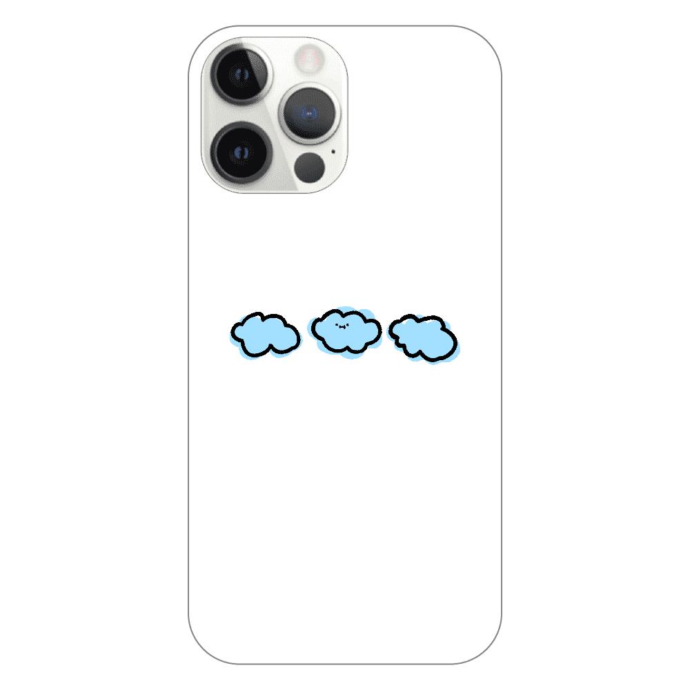 なぞだよ iPhone12 ProMax(透明)