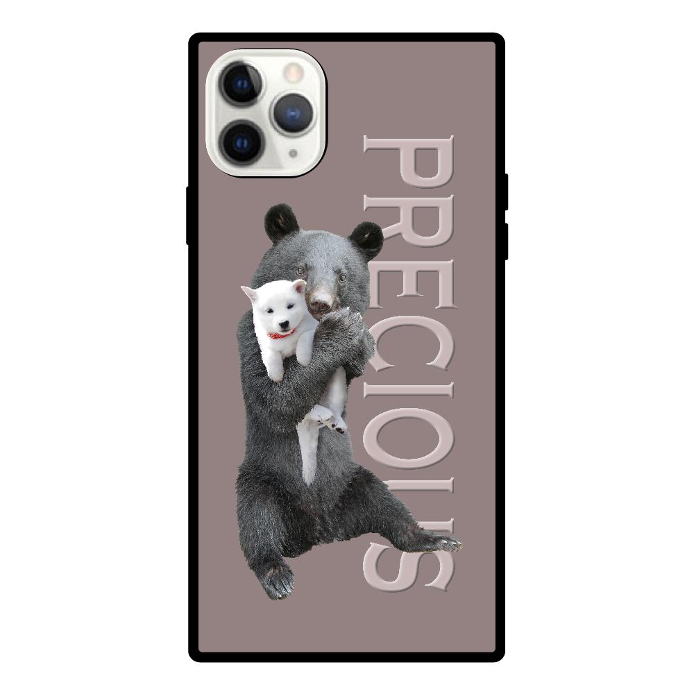 iPhone11 ProMaxスクエア型強化ガラスケース iPhone11 ProMaxスクエア型強化ガラスケース