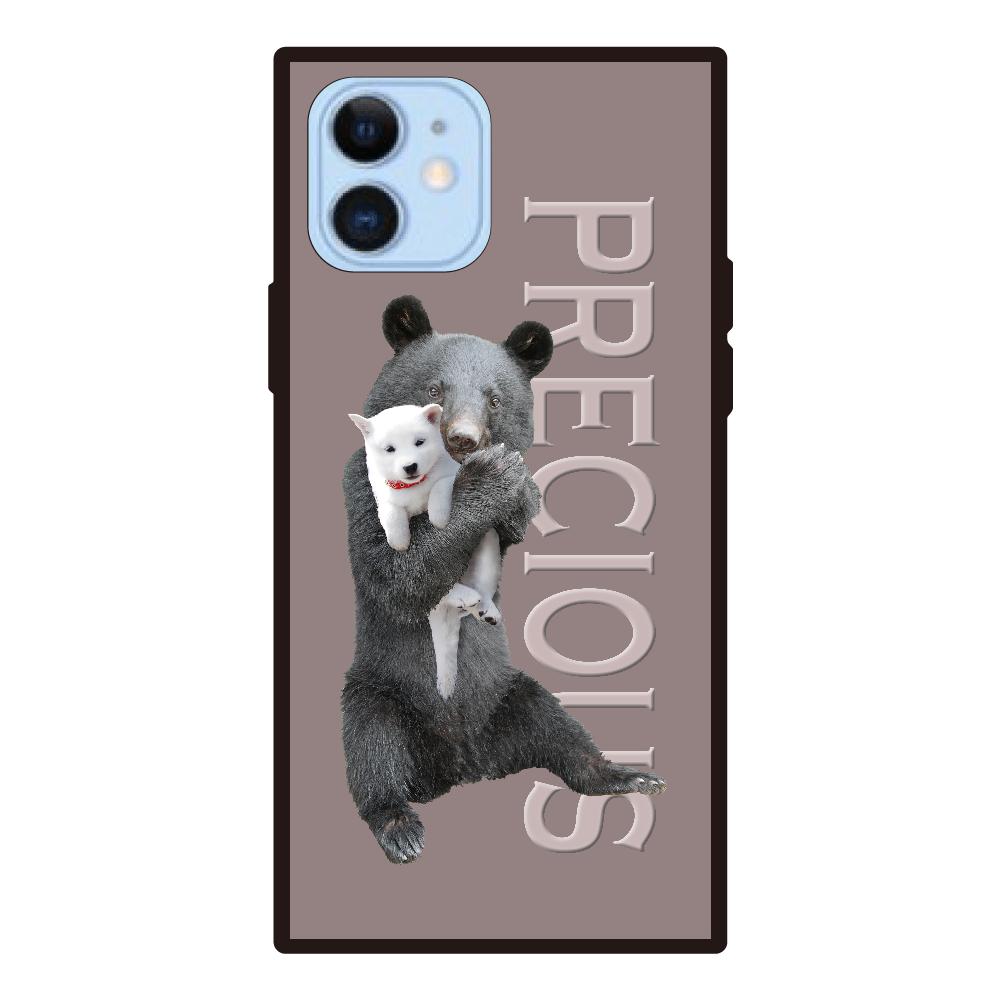 iPhone12/12pro 背面強化ガラス(スクエア)ケース iPhone12/12pro 背面強化ガラス(スクエア)