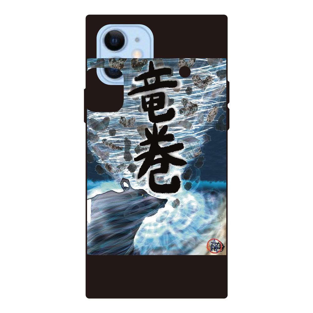 「竜巻」という名の気候変動 ORILAB MARKET.Version.7 iPhone12/12pro 背面強化ガラス(スクエア)