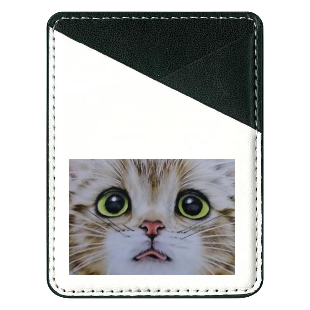 貼り付けパスケース 猫舌 貼り付けパスケース(スマホ用)