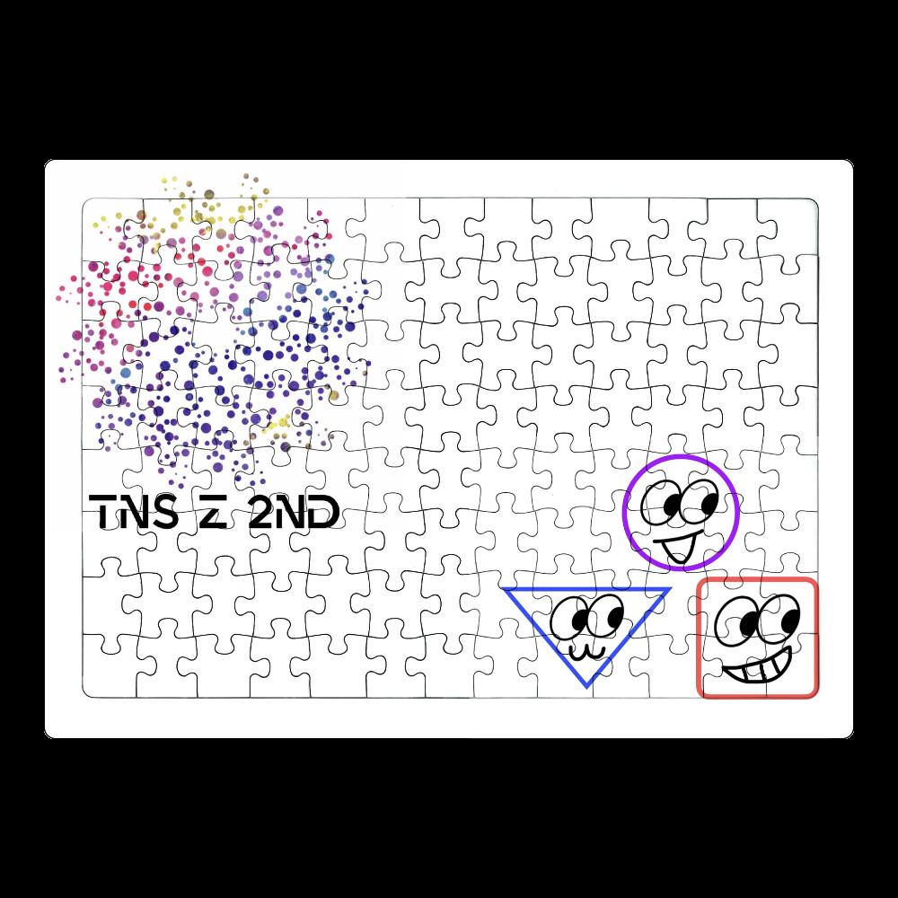 TNS Z 2ndロゴ&キャラクタージグソーパズル A4サイズ 104ピース ホワイト ジグソーパズル A4サイズ 104ピース